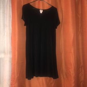 Dresses & Skirts - Black t-shirt dress